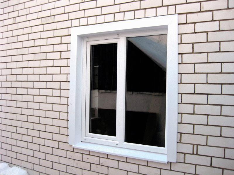 Откосы снаружи на окнах